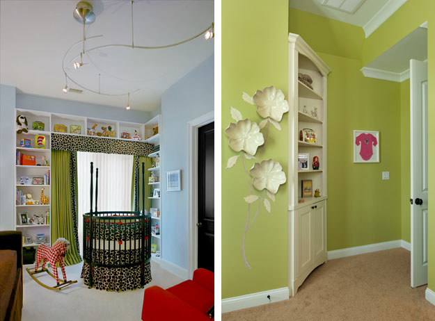 Nursery with cherished keepsakes